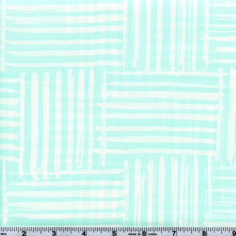 RJR Blossom Batiks 3140 3 Light Green Stripes By The Yard