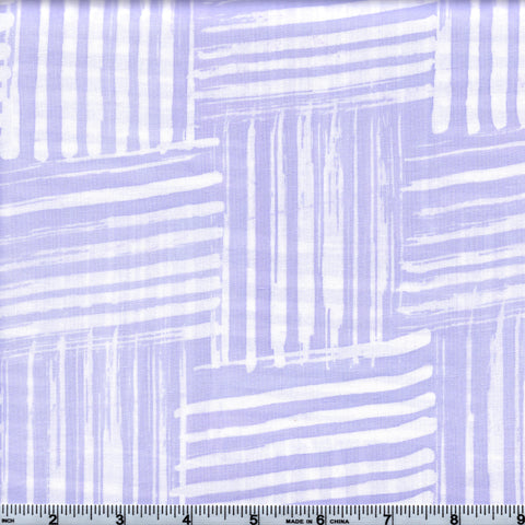RJR Blossom Batiks 3140 4 Light Purple Stripes By The Yard