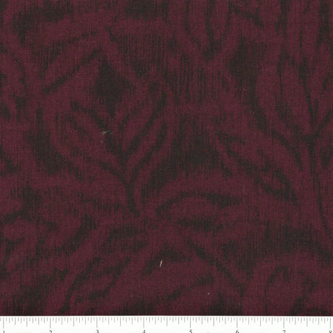 RJR Fabrics Jinny Beyer Miyako 3213 1 Maroon Animal Appearance By The Yard