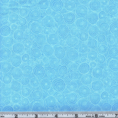 RJR Fabrics Hopscotch 3217 1 Baby Blue Swirl By The Yard