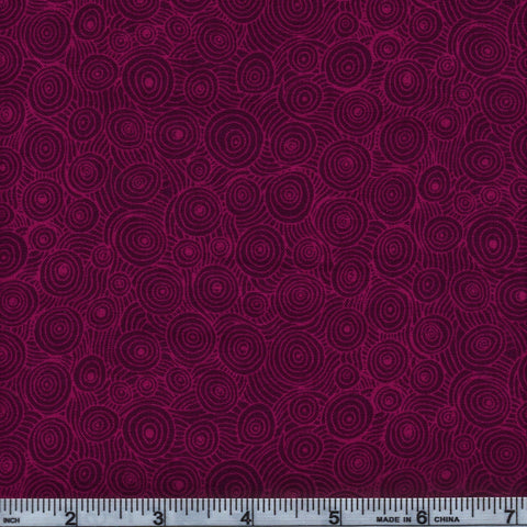 RJR Fabrics Hopscotch 3217 5 Dark Lavender Swirl By The Yard