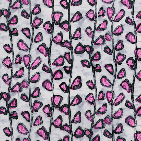 RJR Fabrics Florabunda! 3344 1 Tendrils Bengal Rose By The Yard