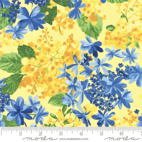 Moda Summer Breeze 2019 - 33441 14 Yellow Blossom Buds By The Yard
