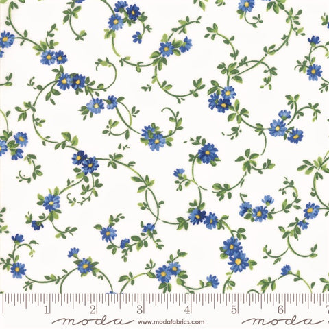 Moda Summer Breeze 2019 - 33445 11 White Daisy Vines By The Yard