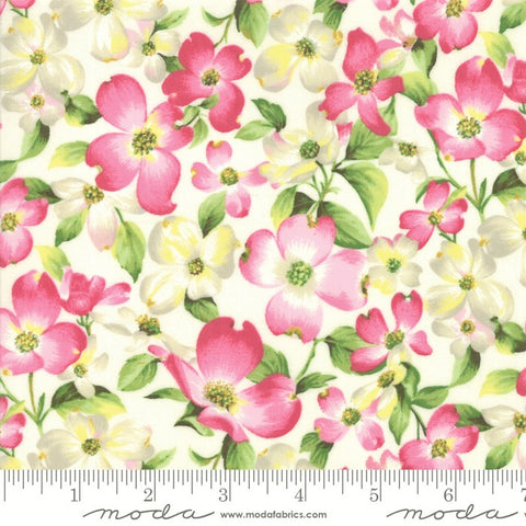 Moda Sakura Park 33480 11 Porcelain Cherry Blossom By The Yard
