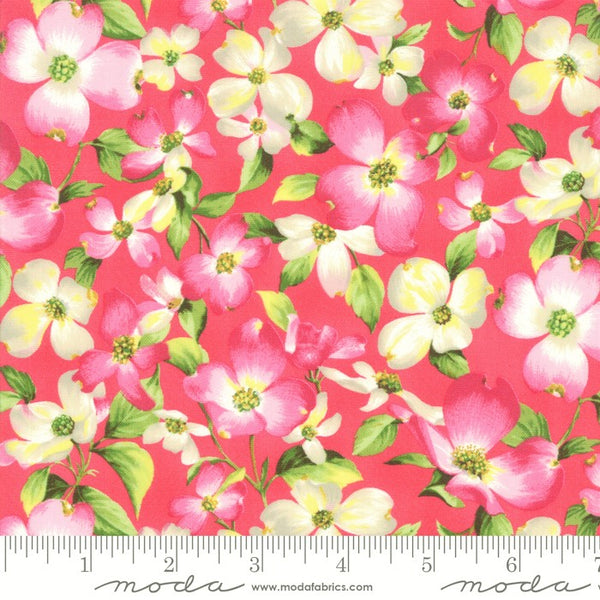Moda Sakura Park 33480 17 Petal Cherry Blossom By The Yard