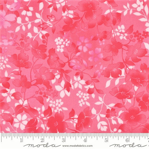 Moda Sakura Park 33484 17 Petal Watercolor Blossoms By The Yard