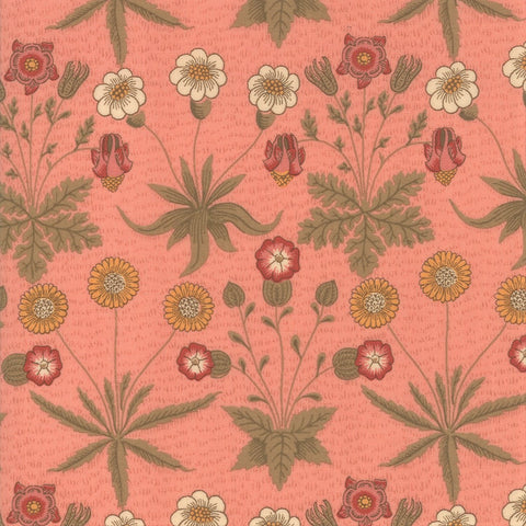 Moda Best Of Morris Spring 33493 12 Rose Daisy By The Yard