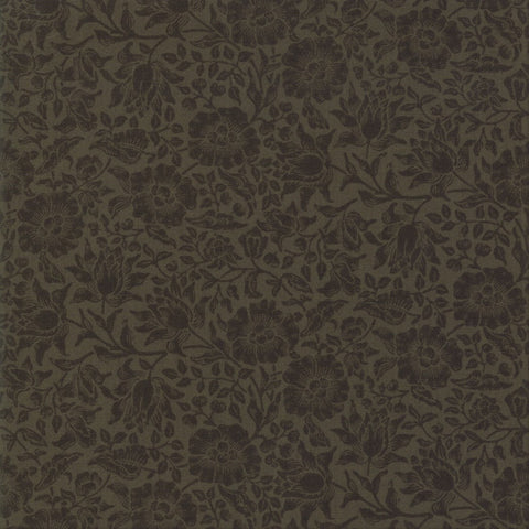 Moda Best Of Morris Fall 33499 16 Ebony Mallow By The Yard