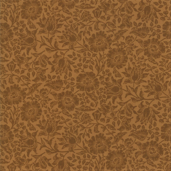 Moda Best Of Morris Fall 33499 18 Tan Mallow By The Yard