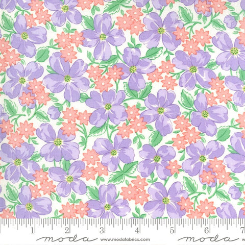 Moda 30's Playtime 33590 21 Lilac Garden Party By The Yard