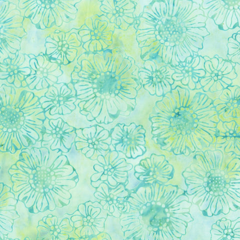 Anthology Bali Batiks 338Q 1 Glade Garden By The Yard