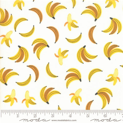 Moda Bicycle Bunch 35332 11 Coconut Bananas By The Yard