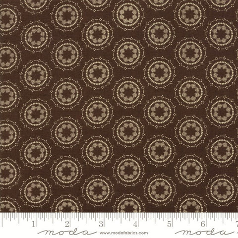 Moda Wanderlust 3541 23 Walnut Center Star Mandala By The Yard