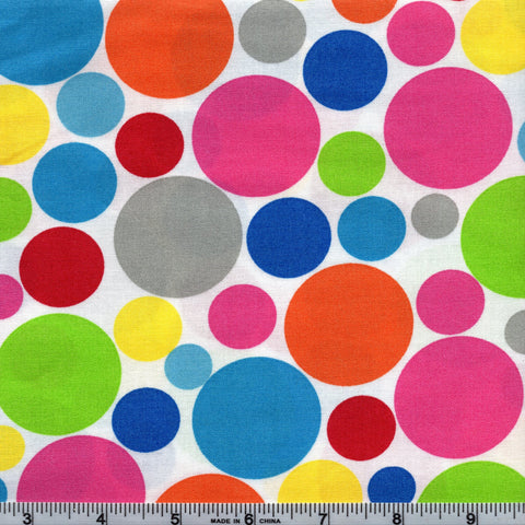 Windham Fabrics Dotcom 38997 7 Playtime Polka Dots By The Yard