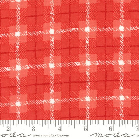 Moda Hazelwood 36014 20 Persimmon Tartan Plaid By The Yard