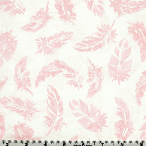 RJR Enchanted Lake 3606 9 Light As A Feather Ballet Pink By The Yard