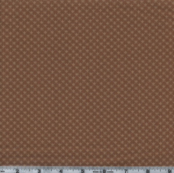 Moda Jo Morton Timeless 38020 12 Brown Windmill Check By The Yard
