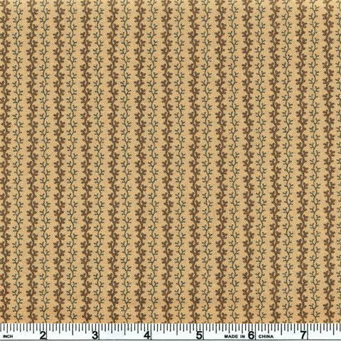 Moda Timeless 38025 11 Coffee Viny Stripes By The Yard
