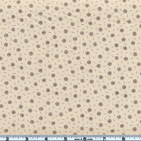 Moda Jo's Shirtings 38041 11 Twinkle Burst Latte By The Yard