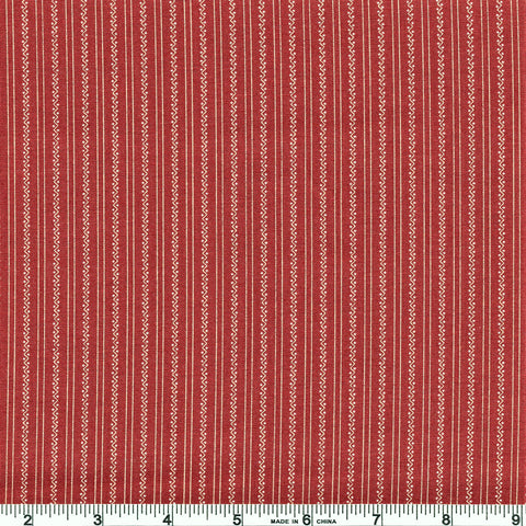 Moda Jo's Shirtings 38043 18 Jo's Stripe Brick By The Yard