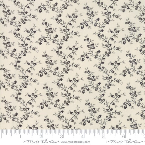Moda Jo's Shirtings 38044 21 Latte/Charcoal Reproduction Pomegranate By The Yard