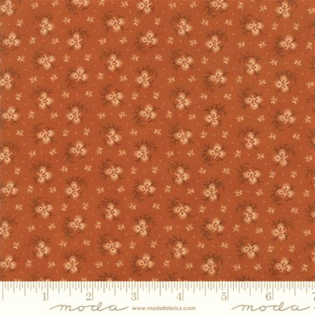 Moda Fabrics Spice It Up 38052 24 Tiny Artistic Branches On Yam  By The Yard