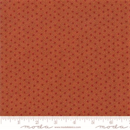 Moda Fabrics Spice It Up 38056 14 Small Spots and Tiny Dots On Paprika By The Yard