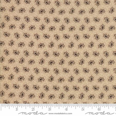 Moda Fabrics Spice It Up 38058 11 Paisley Partners On Wheat  By The Yard
