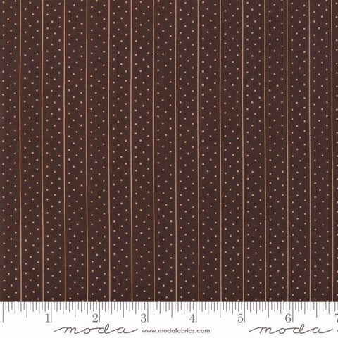 Moda Shelbyville 38072 17 Brown Freckled Stripes By The Yard