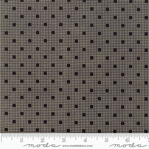 Moda Shelbyville 38073 38 Black Dotted Gingham By The Yard