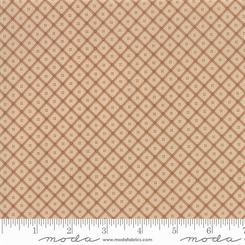Moda Shelbyville 38075 12 Light Tan Crosshatch Plaid By The Yard