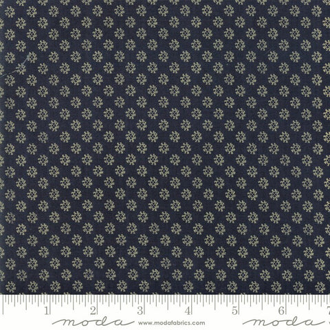 Moda Shelbyville 38077 26 Indigo Floral Reproduction By The Yard