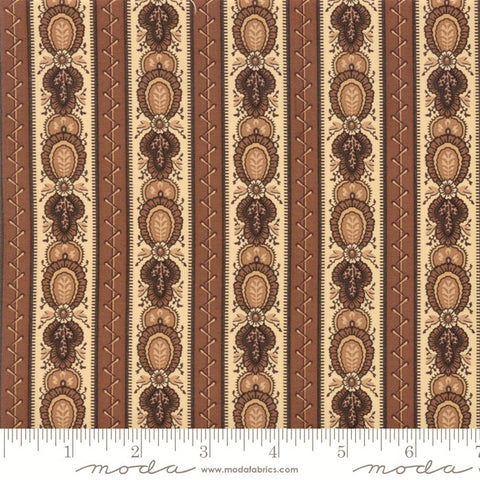 Moda Jo Morton Lancaster 38080 16 Tan Lancaster Stripe By The Yard