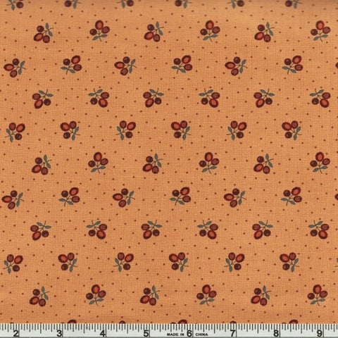 Moda Jo Morton Lancaster 38081 13 Soft Gold Tri Flower Buds By The Yard
