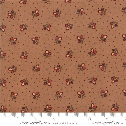 Moda Jo Morton Lancaster 38081 16 Tan Tri Flower Buds By The Yard