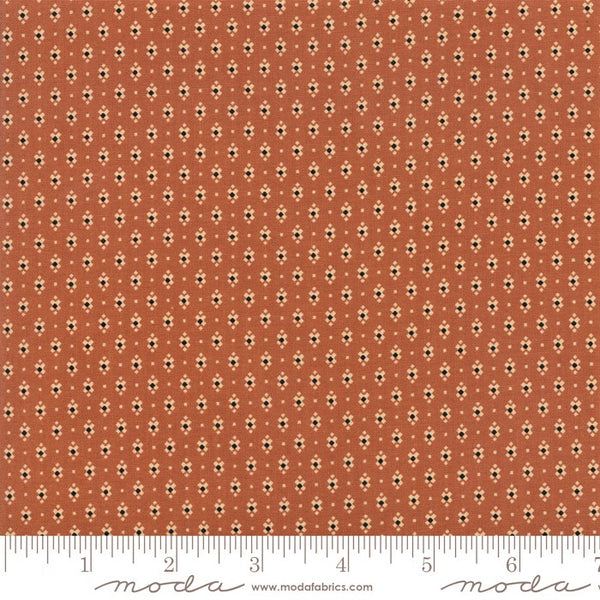 Moda Jo Morton Lancaster 38082 14 Light Rust Xs By The Yard