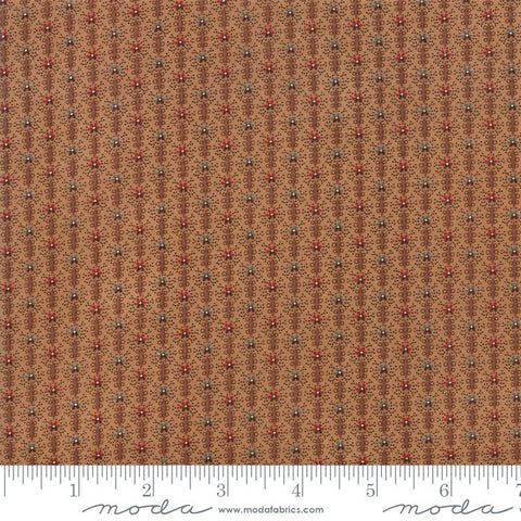 Moda Jo Morton Lancaster 38085 16 Tan Textured Stripe By The Yard