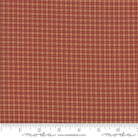 Moda Jo Morton Lancaster 38088 16 Tan Small Plaid By The Yard