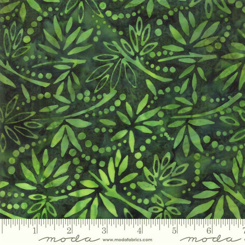 Moda Bahama Batiks 4352 19 Bahama Jungle Island Rain By The Yard