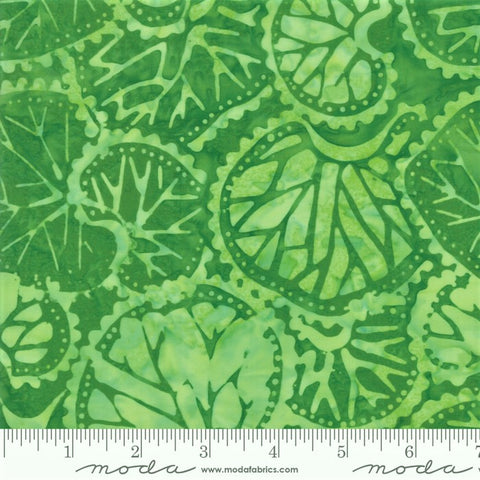 Moda Bahama Batiks 4352 20 Palm Leaf Collage By The Yard