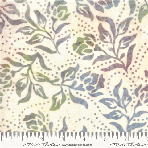 Moda Bahama Batiks 4352 40 White Sand Dot Dot Flower By The Yard