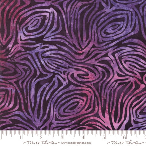 Moda Maui Batiks 4353 14 Purple Earthen Swells By The Yard