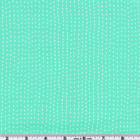 Moda Enchanted 48246 22 Misty Aqua Rain Dash By The Yard