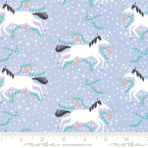 Moda Enchanted 48251 16 Lavender Unicorns Galore By The Yard