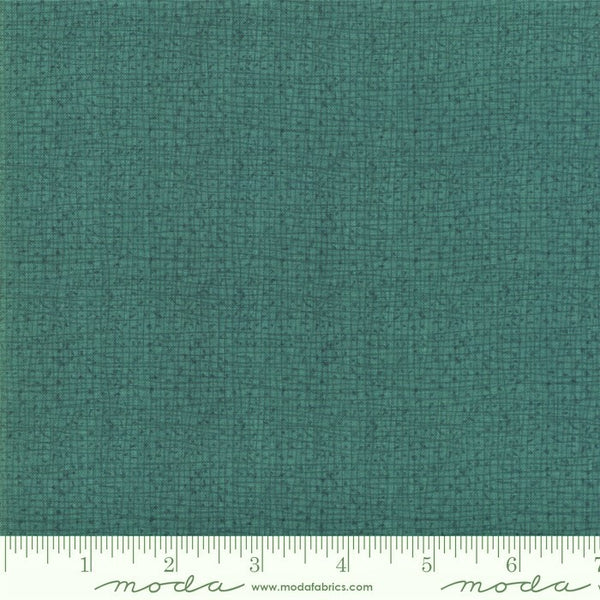 Moda  Painted Meadow 48626 52 Teal Woven Mini Vines By The Yard