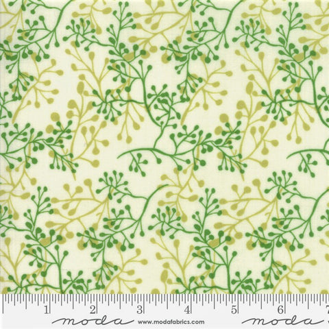 Moda  Painted Meadow 48663 11 Cream Little Sprigs By The Yard
