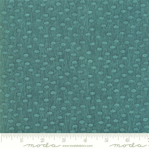 Moda  Painted Meadow 48665 12 Teal Modern Dots By The Yard