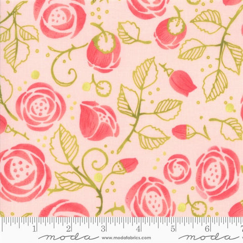 Moda Robin Pickens Abby Rose 48671 12 Early Dawn Bramble By The Yard