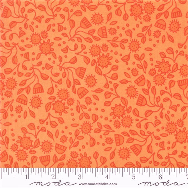Moda Robin Pickens Abby Rose 48673 13 Citrus Flowers In The Wild By The Yard